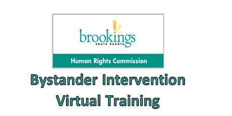 Bystander Intervention Virtual Training tickets