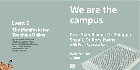 The Manifesto for Teaching Online : we are the campus tickets