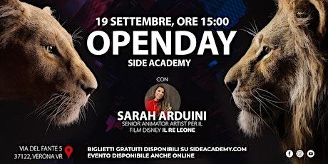 Side Academy Openday 19 Settembre ore 15:00 biglietti