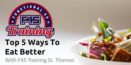 Top 5 Ways to Eat Better Course (Zoom) tickets