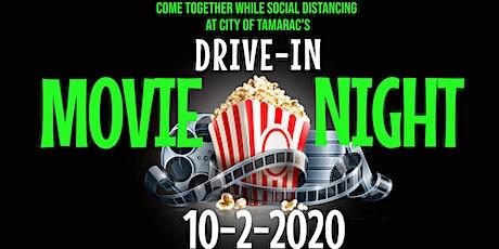 City of Tamarac Drive-In Movie Night tickets