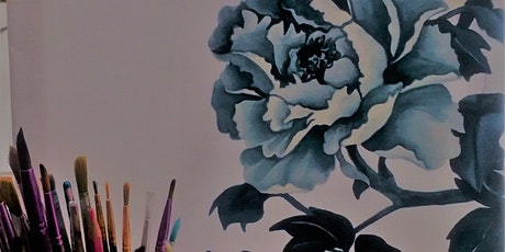 Floral Botanical Painting Workshop - no drawing skills needed tickets