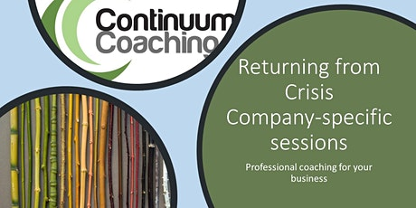 Professional Coaching for Your Business and Senior Team tickets