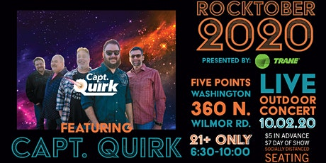 Rocktober 2020 with Capt. Quirk tickets