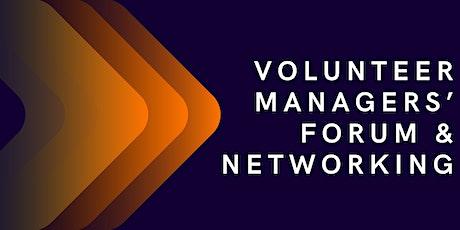 Volunteer Managers' Forum & Networking tickets