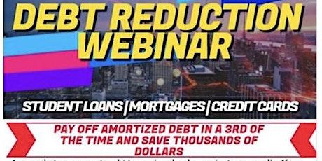 DEBT REDUCTION WEBINAR tickets