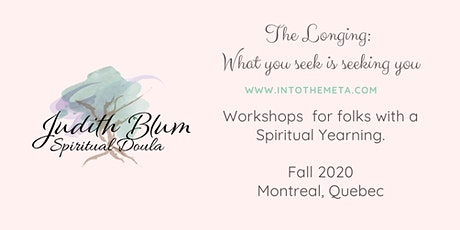 The Longing Workshop tickets