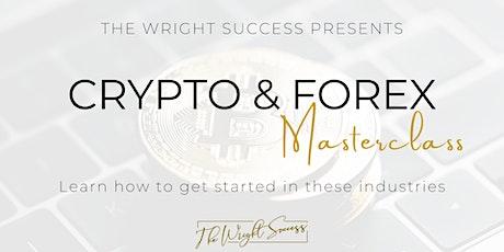 Crypto & Forex Masterclass tickets