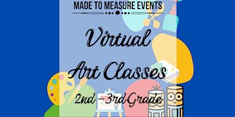 Virtual Art Class - 2nd-3rd Grade tickets