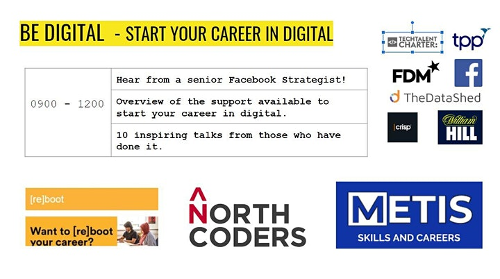 Be Digital - Find a job in the digital industry image