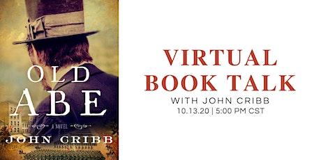 Virtual Book Talk • John Cribb tickets