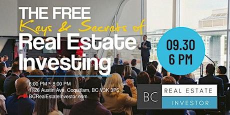 BC Real Estate Investors Seminar tickets