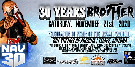 IZW NAV30: 30 Years Brother! presented by Big Lip Radio tickets