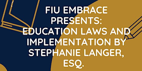 Education Laws and Implementation tickets