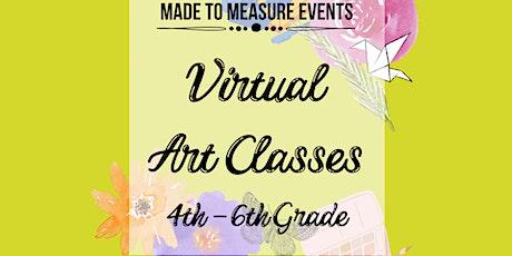Virtual Art Class - 4th-6th Grade tickets