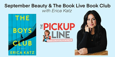 The Pickup Line September Beauty & The Book Live Book Club tickets