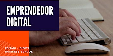 Curso Online de Emprendedor Digital boletos