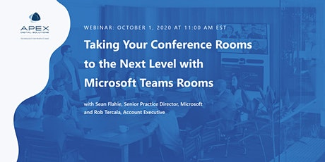 Taking Your Conference Rooms to the Next Level With Microsoft Teams Rooms tickets