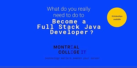 How to become a full Stack java developer tickets