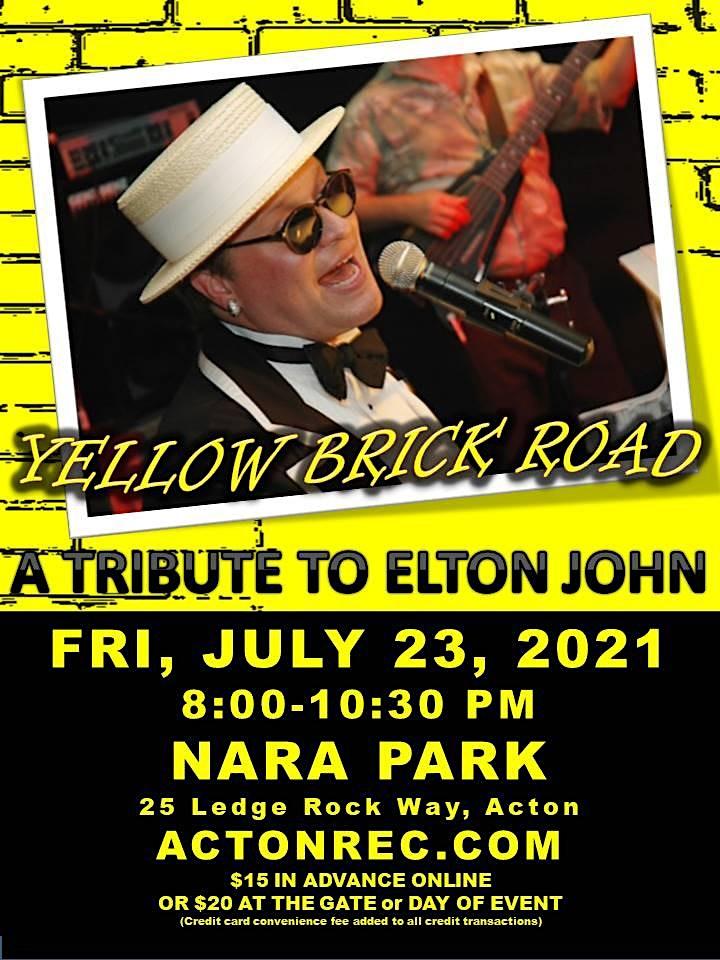 Yellow Brick Road - A Tribute to Elton John - 2021 image