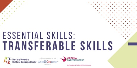Essential Skills: Transferable Skills **Online Workshop**