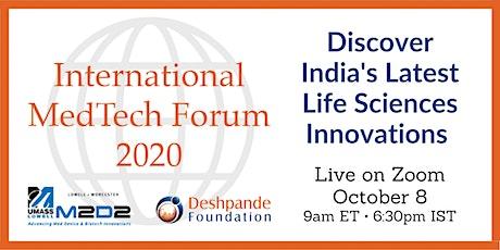 M2D2 International MedTech Forum 2020 tickets