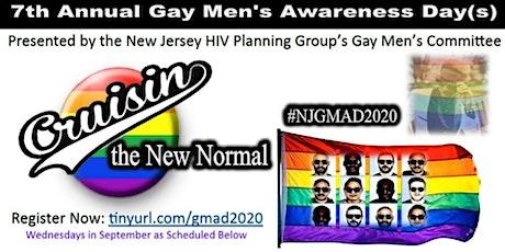 2020 NJ Gay Men's HIV Awareness Month tickets