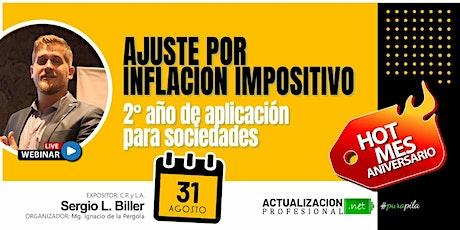 Grabacion AXI Impositivo. 2do año de aplicación para sociedades entradas