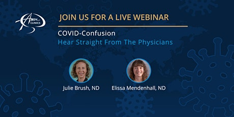 COVID Confusion - Hear Straight From The Physicians tickets