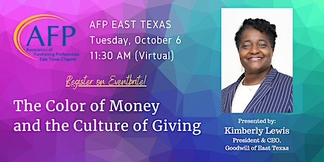 AFP East Texas October 6, 2020 Kimberly Lewis tickets