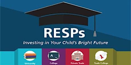 کمکهای دولتی کانادا برای تحصیلات دانشگاهی بچهها (RESP) tickets