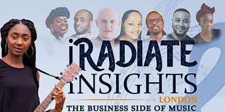 iRadiate Insights Online: The Business Side Of Music tickets