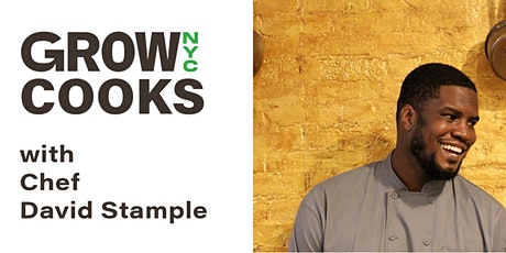 GrowNYC Cooks with Chef David Stample tickets