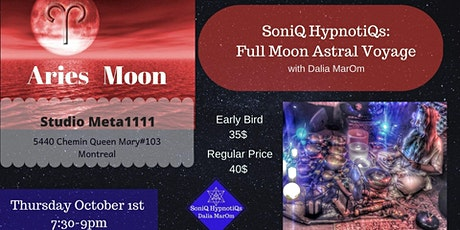 SoniQ HypnotiQs: Full Moon Astral Voyage tickets