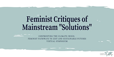 """Feminist Critiques of Mainstream """"Solutions"""" tickets"""