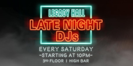 Late Night with DJ Yuna & Friends tickets
