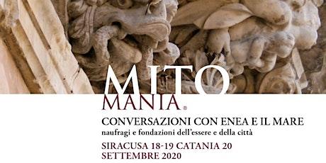 """Webinar """"Mitomania 2020, Conversazioni con Enea ed il mare"""" 18-19-20/09/20 biglietti"""