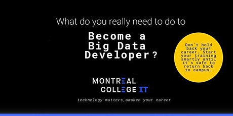 How to become a Big Data Developer tickets