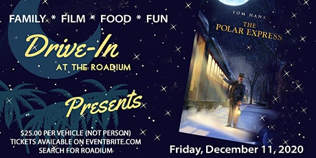 THE POLAR EXPRESS at the Roadium Drive-In billets