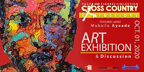 EXPRESSION Faces And Figures  Collection   CROSS COUNTRY Art Exhibition tickets