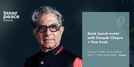 Book event & masterclass with Deepak Chopra tickets