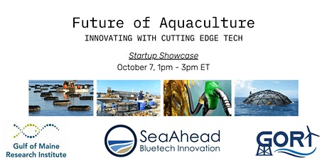 SeaAhead Startup Showcase: Innovation in Aquaculture tickets