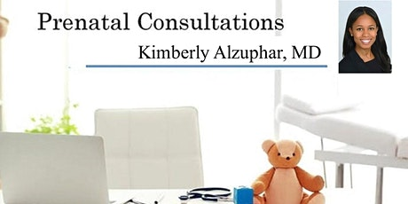 Virtual: Prenatal Consultation - Meet Pediatrician: Dr. Kimberly Alzuphar tickets