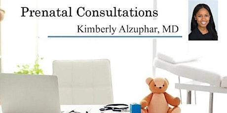 Virtual: Prenatal Consultation - Meet Pediatrician: Dr. Kimberly Alzuphar tickets