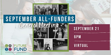 Future Fund Virtual All-Funders General Member Event tickets