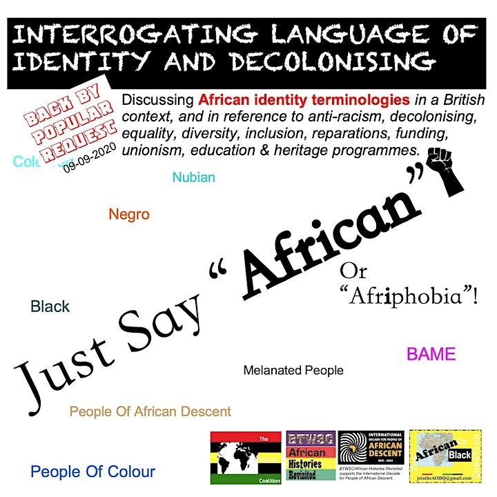 Interrogating Language Of Identity And Decolonising image