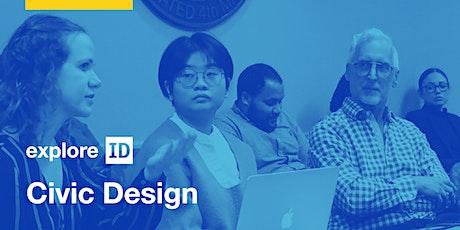 exploreID: Civic Design tickets