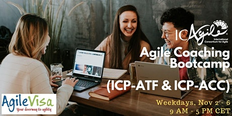 <4 seats left> Agile Coaching Bootcamp (ICP-ATF & ICP-ACC) tickets