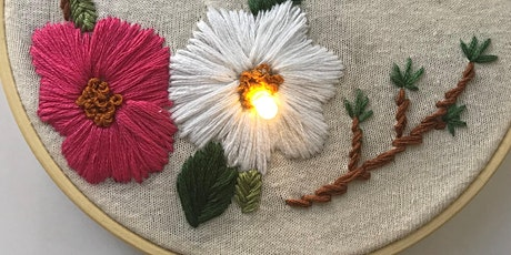 Create Your Own Botanical Embroidery (Oct. 24 Session) tickets