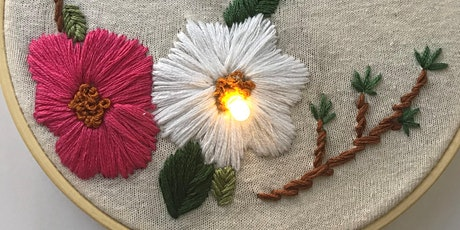 Create Your Own Botanical Embroidery (Oct. 31 Session) tickets